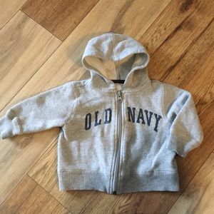 Old navy hoody 6-12 months